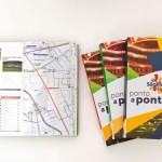 Guia facilita visita a pontos turísticos utilizando o transporte público