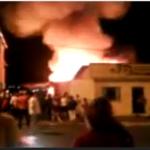 Incendio em favela em campo belo