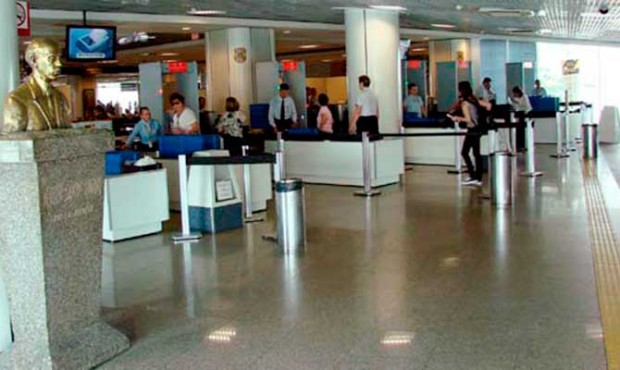 A nova área de embarque no aeroporto de Congonhas / Divulgação/Infraero